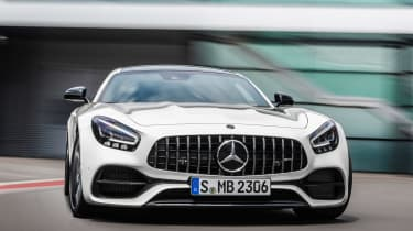 Mercedes-AMG GT - front action