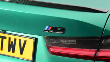 BMW M3 Competition - M3 badge