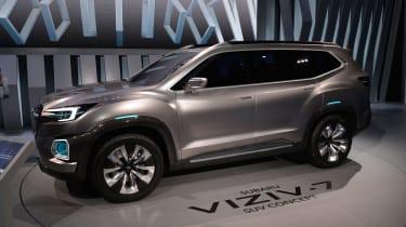 Subaru VIZIV-7 SUV Concept - LA Motor Show front/side
