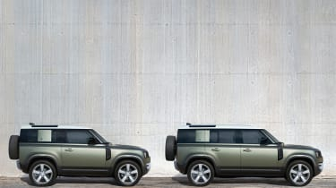 2019 Land Rover Defender side