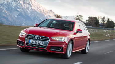 Audi A4 quattro front tracking