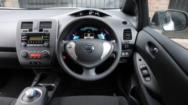 Used Nissan Leaf Mk1 - dash