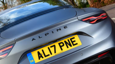 Alpine A110 S - rear detail