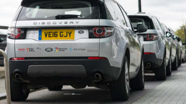 Fast track to self driving - Land Rover Discovery Sport