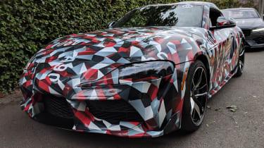 New Toyota Supra front quarter