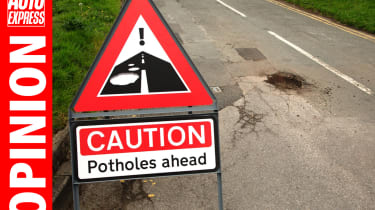 Opinion - potholes