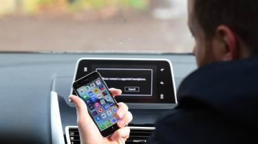 Mitsubishi Eclipse Cross long-term test - Apple CarPlay