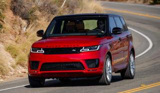 Range Rover Sport PHEV - front