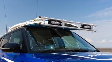 Kia Soul EV Boardmasters Edition - roof