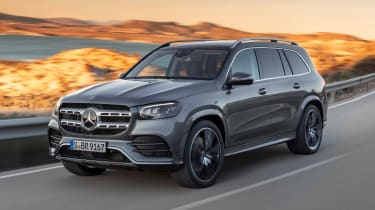 Mercedes GLS - grey front