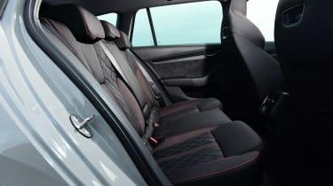 Skoda Octavia vRS diesel - rear seats