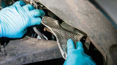 How to investigate TDV6 turbocharger noise - step 4