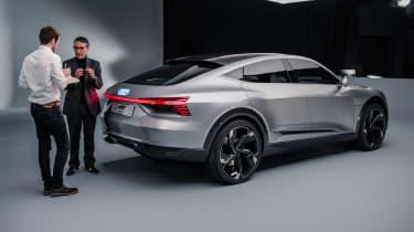 Audi e-tron Sportback concept - rear studio