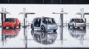 Jaguar Land Rover Project Vector - range
