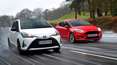 Toyota Yaris GR Sport vs Ford Fiesta ST-Line - header
