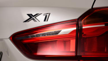 BMW X1 2015 badge