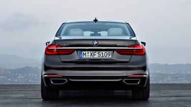 New 2015 BMW 7-Series rear