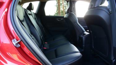 Volvo XC60 - rear seat