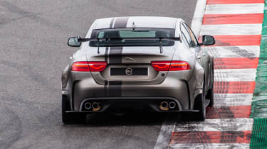 Jaguar XE SV Project 8 - rear