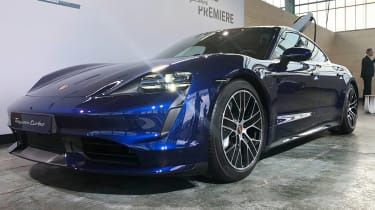 Porsche Taycan - reveal front static