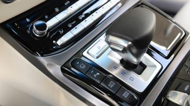 Genesis G90 first drive - gear selector