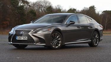 Lexus LS - front