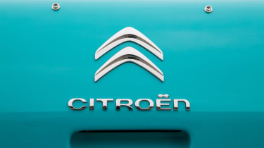 Citroen E-Mehari - Citroen badge