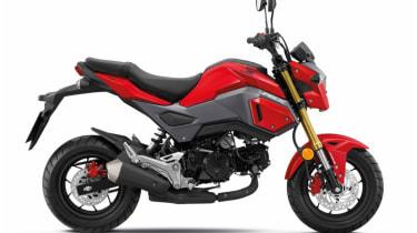Honda MSX 125 review - side profile