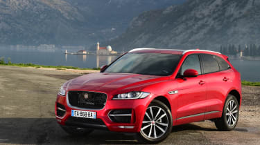 Jaguar F-Pace first drive - front quarter