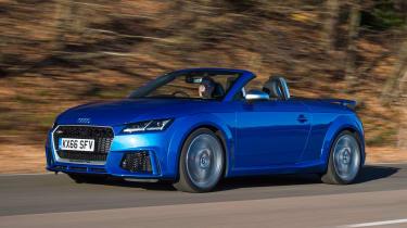 Audi TT RS - front