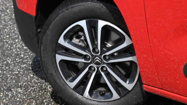 Citroen Berlingo XL Flair long termer - wheel
