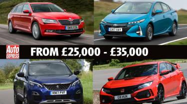 Best Company Cars from £25k - £35k - header