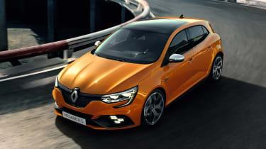 Renault Megane RS - front cornering