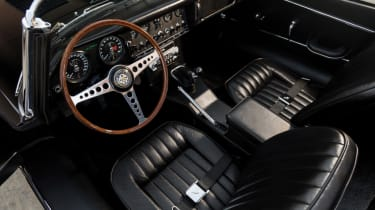 Cool cars: the top 10 coolest cars - Jaguar E-Type interior