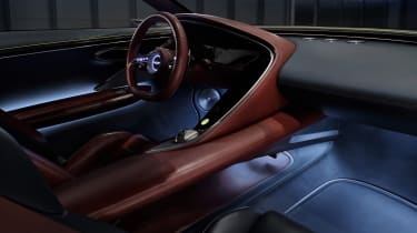 Genesis X Concept - interior