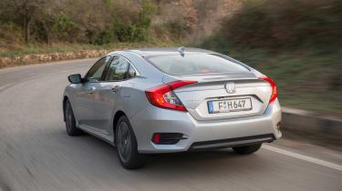 Honda Civic Saloon - rear action