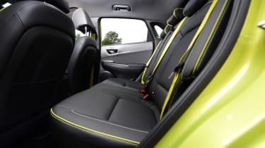 Hyundai Kona Diesel - rear seat