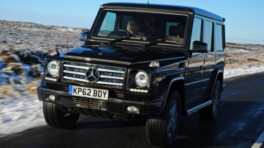 The Mercedes G-class is designed to add luxury to the off-roader car market.