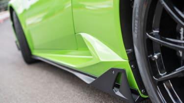 Lamborghini Huracan styling kits - flank