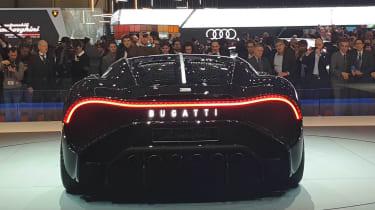 Bugatti La Voiture Noire - Geneva full rear
