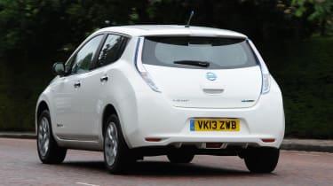 Used Nissan Leaf Mk1 - rear
