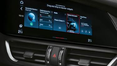 Alfa Romeo Giulia - infotainment