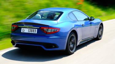 Maserati GranTurismo Sport rear tracking
