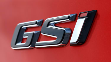 New Vauxhall Insignia GSi - badge