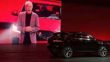 Jaguar E-Pace launch - Ian Callum