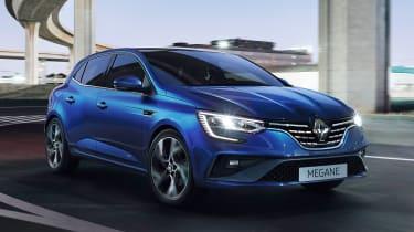 Renault Megane - front action