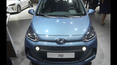 Hyundai i10 facelift - Paris front
