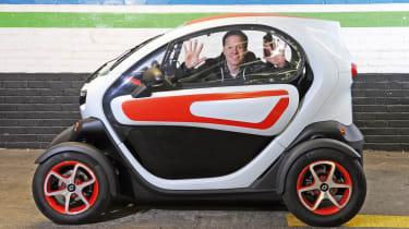 Renault Twizy profile header
