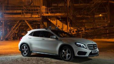 Mercedes GLA 220 CDI front static