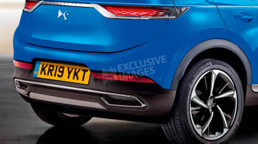 DS 3 Crossback - rear detail (watermarked)